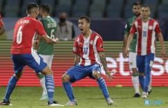 巴拉圭中场加马拉单场创造10次机会,07年以来美洲杯最多