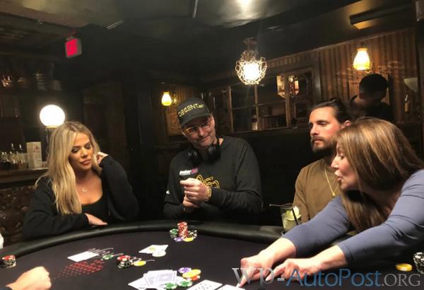 卡戴珊从Phil Hellmuth那里得到了一堂扑克课