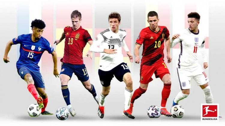👍德甲共有89名球员被国家队征召参加今夏欧洲杯,创历史新高