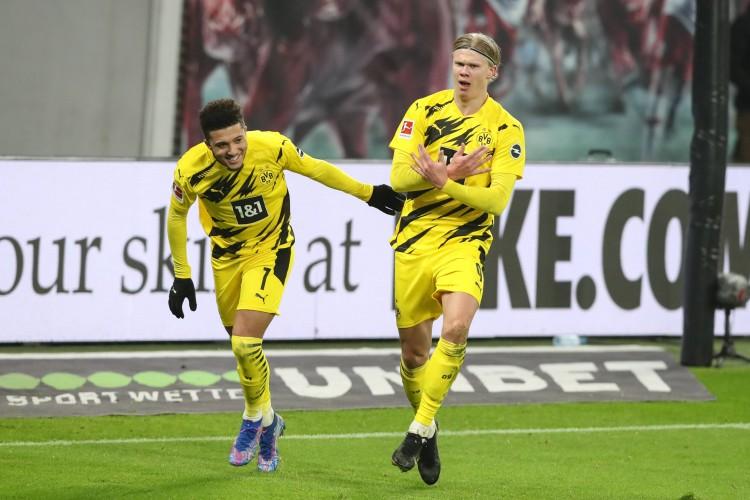 德转更新德甲球员身价:哈兰德&桑乔前二,前十7名拜仁球员
