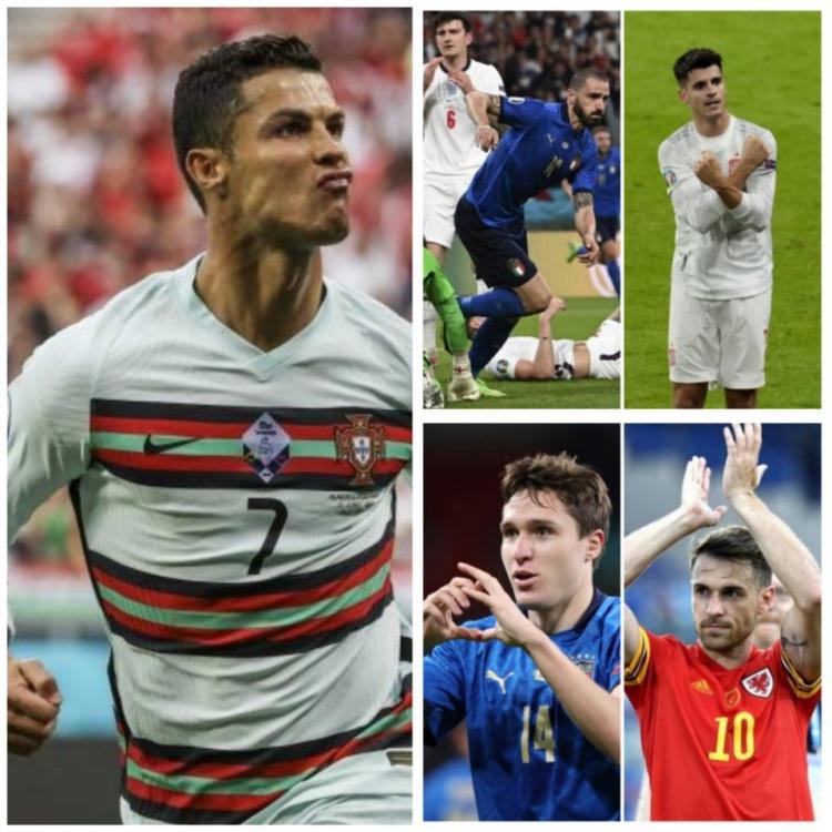 尤文球员打进12球,是单届欧洲杯进球最多的俱乐部
