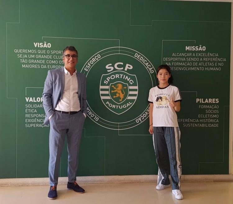 沈梦露:很早就决定留洋,长期效力欧洲顶级俱乐部是我的目标