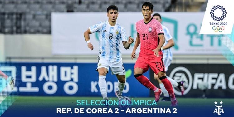 进球全是世界波!韩国国奥热身赛2-2战平阿根廷国奥