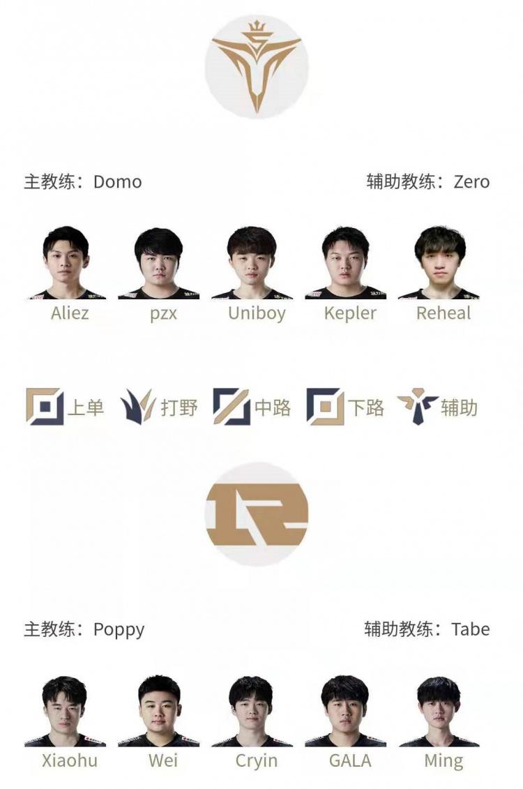 LPL明日首发:yuyanjia重回TES首发 中路Cryin首发对阵Uniboy