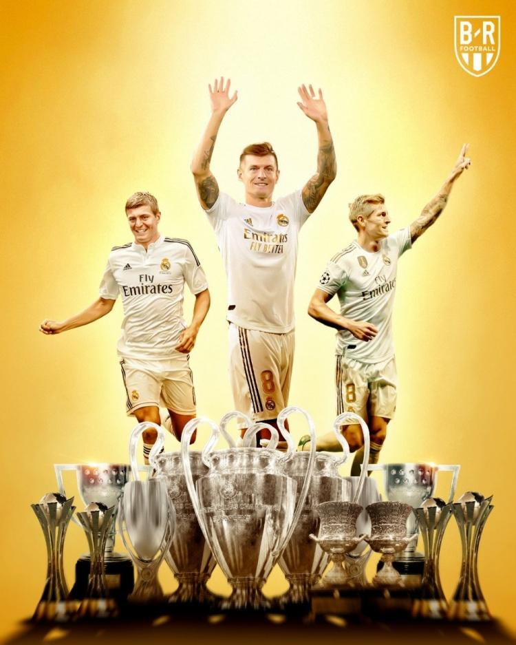 超值!7年前的今天,皇马2500万欧从拜仁签下克罗斯