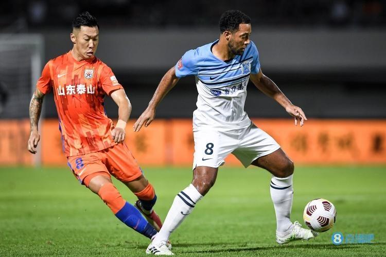 半场-莱昂纳多进球被吹徐新远射造险 山东0-0暂平广州城